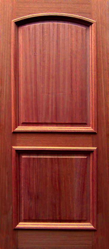 2 Panel Arch / Raised Panel Door (available In 3/0 Width And 6/8 And 8/0  Heights)