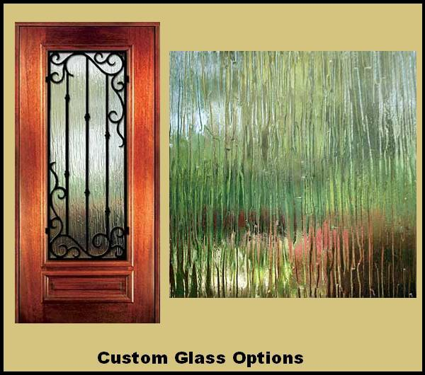 Custom Glass Options