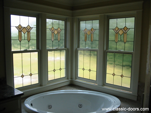 Craftsman treatment of windows